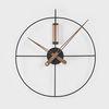 와이어벽시계2 원형.500mm
