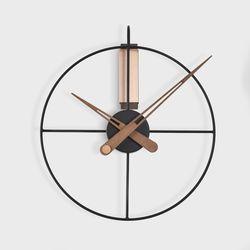 와이어벽시계2 원형.350mm