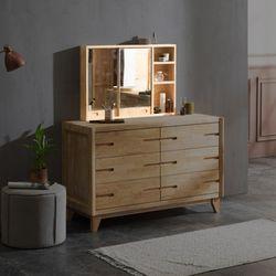 아벤티 고무나무 수납 거울