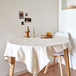 블랭크 광목 정사각 테이블커버 . 광목 식탁보 (RM 283001)