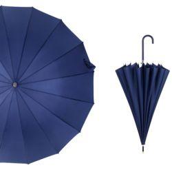 대형 튼튼한 반자동 고급 패션 우산 이쁜 장우산blue