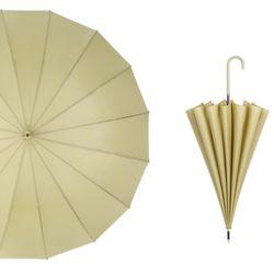 대형 튼튼한 반자동 고급 패션 우산 이쁜 장우산green