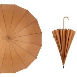 대형 튼튼한 반자동 고급 패션 우산 이쁜 장우산brown