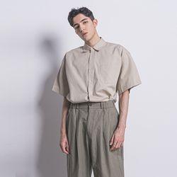 M53 pocket over half shirts beige