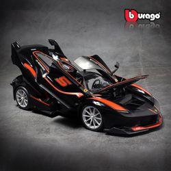 브라고 1-18 페라리 FXX K  Black  키덜트 모형 자동차