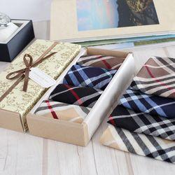 Medium Tempo Hankie - 면 손수건 노빌리티 4종 선물세트