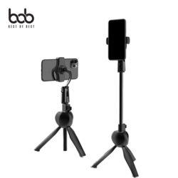 bob 스테이블라이저 휴대폰 접이식 미니삼각대 셀카봉