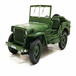 Jeep 지프 모형 짚 짚차 밀리터리 수송특기 운전병