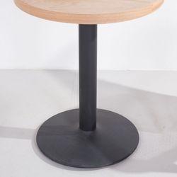 3인치 프레임 블랙 티테이블용 카페 식탁 업소