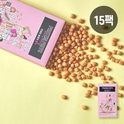썬더버드 프로틴쌀과자 딸기 15팩 (현미과자)