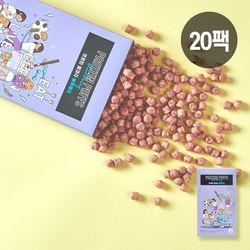 썬더버드 프로틴 쌀과자 블루베리 20팩 (현미과자)