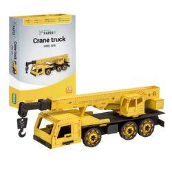 페이퍼락 3D퍼즐 종이퍼즐 크레인 트럭