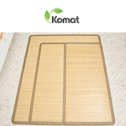 스트레이트 천연 대자리 150x190  대나무 돗자리 매트