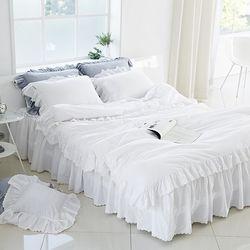 40수 트윌 클래식 호텔식 침대커버세트(Q)