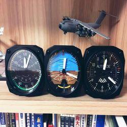세스나 Cockpit Clock 항공계기판 탁상 데코시계 조종