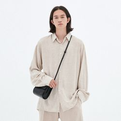 LOOSE-FIT LINEN SHIRTS OATMEAL