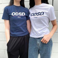 [트와이스 정연착용/스티커팩증정] 오드스튜디오 ODSD로고 슬림핏 티셔츠 - 2COLOR