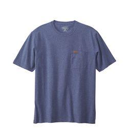 데슈트 포켓 반팔 티셔츠 블루