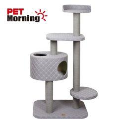 고양이 놀이터 페브릭 체크 캣타워 PMC-AS318