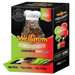 맛있는 고양이 간식 미우크리스피 480g(20g 24개)치킨앤비프믹스