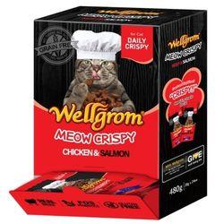 맛있는 고양이 간식 미우크리스피 480g(20g 24개)비프앤살몬