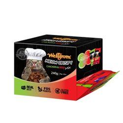 맛있는 고양이 간식 미우크리스피 240g(20g 12개)치킨앤비프믹스
