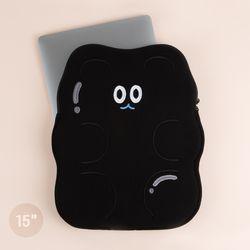 자수 젤리베어 노트북파우치 (15인치)