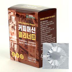 커피머신 클리너 (개별포장 타블렛 2g x 30정) 1종세척제