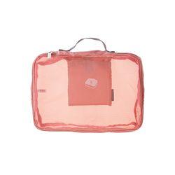 PESPES. 폴딩 파우치 핑크 S
