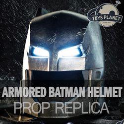 [국내배송/토이스 플래닛] 배트맨 대 슈퍼맨 저스티스의 시작 아머드 배트맨 헬멧 1:1