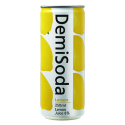 [무료배송] 데미소다 레몬 250ml 캔 30입