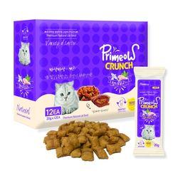 맛있는 고양이 간식 프리미요 크런치 12p 참치와닭고기