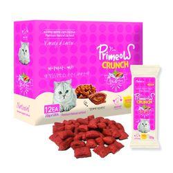 맛있는 고양이 간식 프리미요 크런치 12p 참치와연어