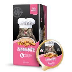 맛있는 고양이 간식 미우팟 연어(30g 6개)일품뱃살