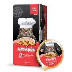 맛있는 고양이 간식 미우팟 연어(30g 6개)힘찬꼬리살