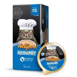 맛있는 고양이 간식 미우팟 참치(30g 6개)궁극대뱃살