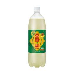 [무료배송] 오란씨 파인애플 1.5L 페트 12입