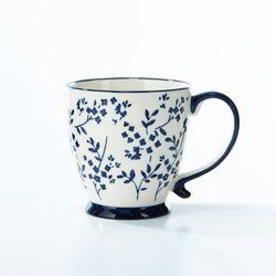 블루플라워 커피잔 500ML