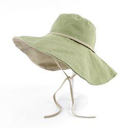 샤베트 와이어 빅챙 모자