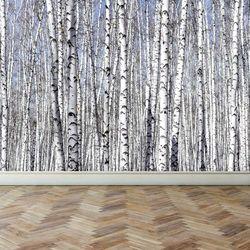 리모델링벽지 포인트벽지인테리어 자작나무 숲