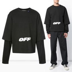 10주년 레이어드 티셔츠 OMAB022E18405003 1001