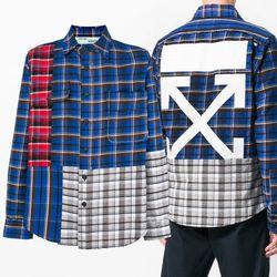 18FW 빈티지 체크 셔츠 OMGA072F18A27005 8801