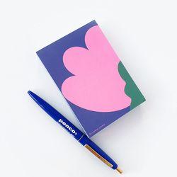 핑크 튤립 메모지