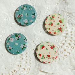 그려낸 빈티지 꽃 그립톡 스마트톡