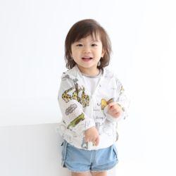 아동 비치점퍼 애니멀 바람막이 봄 여름 유아 의류