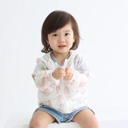 아동 비치점퍼 토끼 메쉬 바람막이 봄 여름 유아 의류