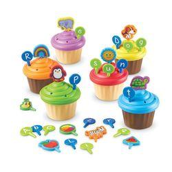 LER6804 ABC 컵케이크 토퍼 놀이