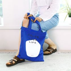 COLOR YOUR LIFE BAG DEEP BLUE