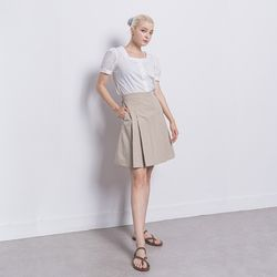 W29 rect blouse white