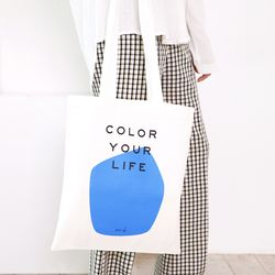 COLOR YOUR LIFE BAG BLUE PRINT